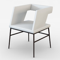 mariani sissi chair 3d 3ds
