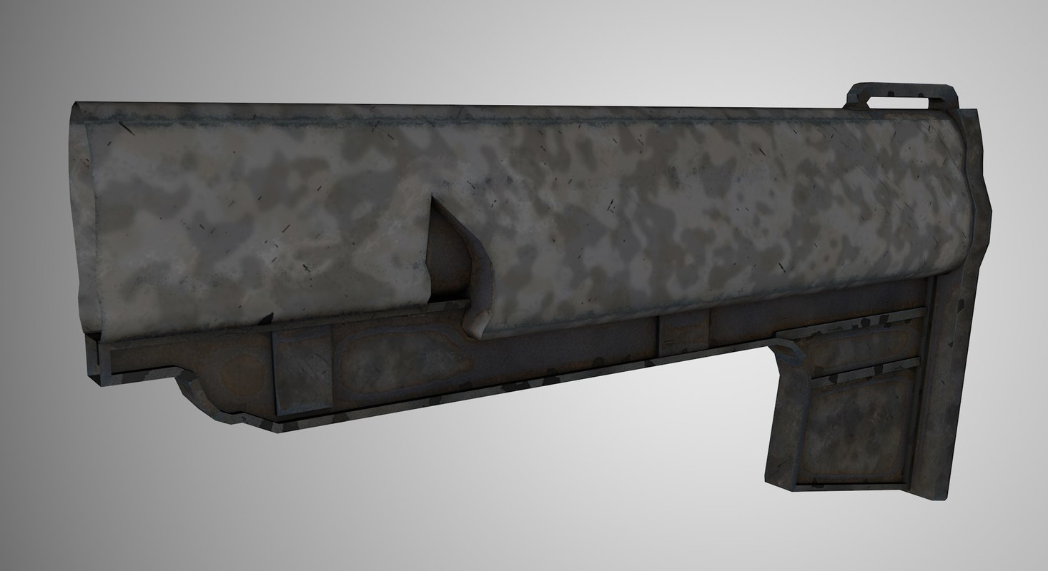 3ds max stock weapons