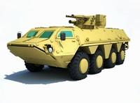 ukrainian bucephalus 3d max