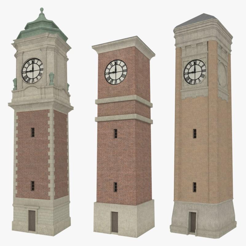 maya pack clock towers interiors