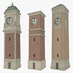 maya pack clock towers interiors
