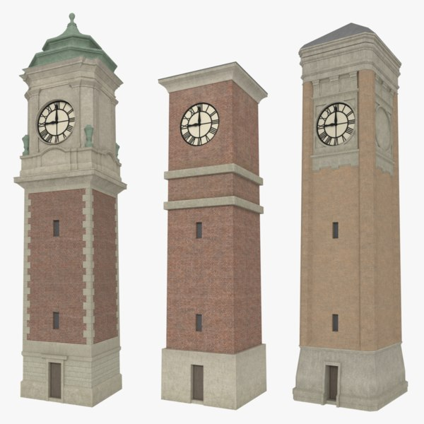 pack clock towers 3ds
