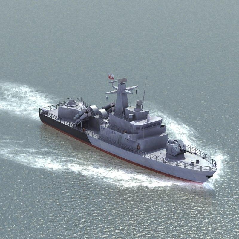 missile boat 3ds