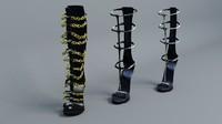 sandals gladiator 3d 3ds