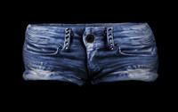 short jeans 3d obj