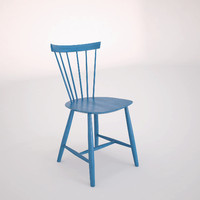 j46 chair poul m 3d model