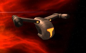 3dsmax droid scout ship