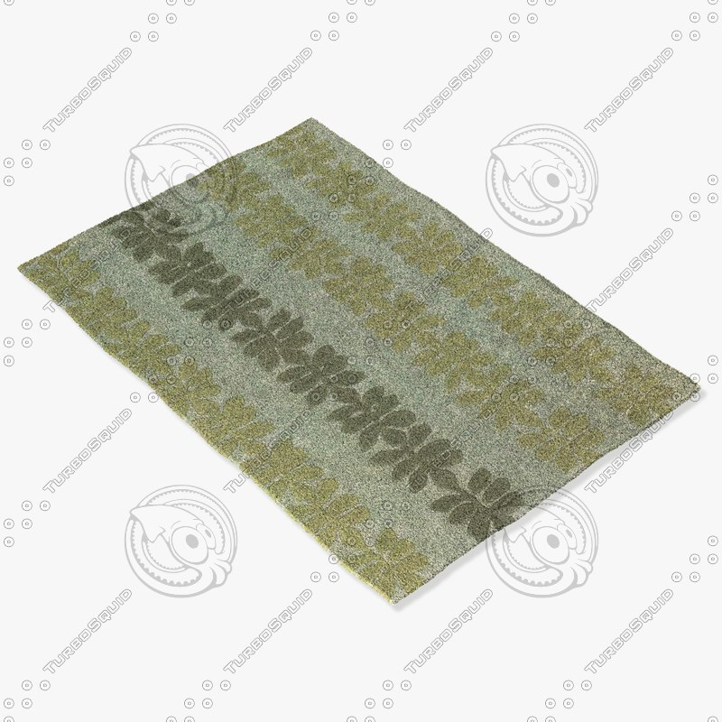 3d model of chandra rugs alf-2103