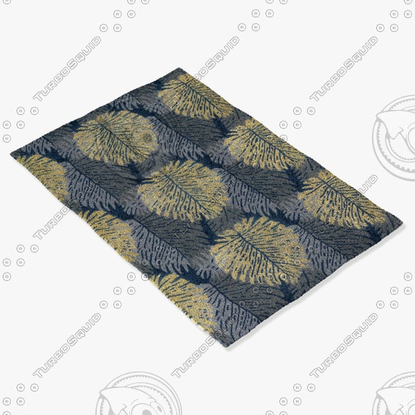 chandra rugs alf-2109 3d model