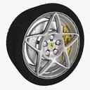 racing wheel 3D models