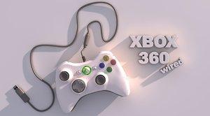 3d 360 xbox controller