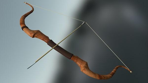 bow rig 3d model