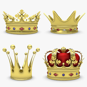 crown set 3d model