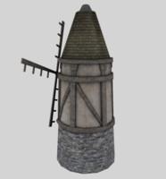 windmill 3d 3ds