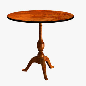3ds max folding table 1700´s