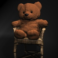 3d teddy bear chair