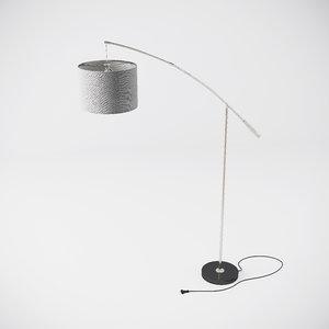 nadina floor lamp eglo 3d max