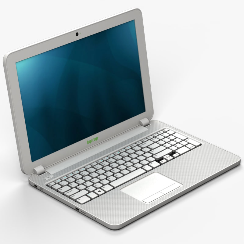 laptop 3d 3ds