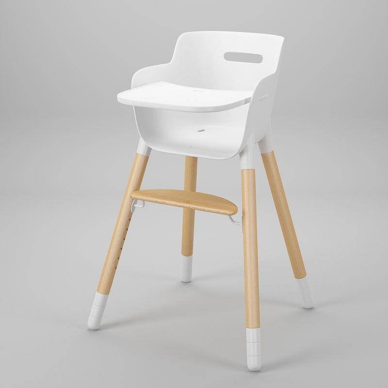 3ds max flexa chair