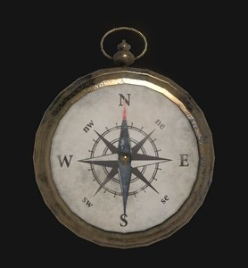 3ds max physically compass