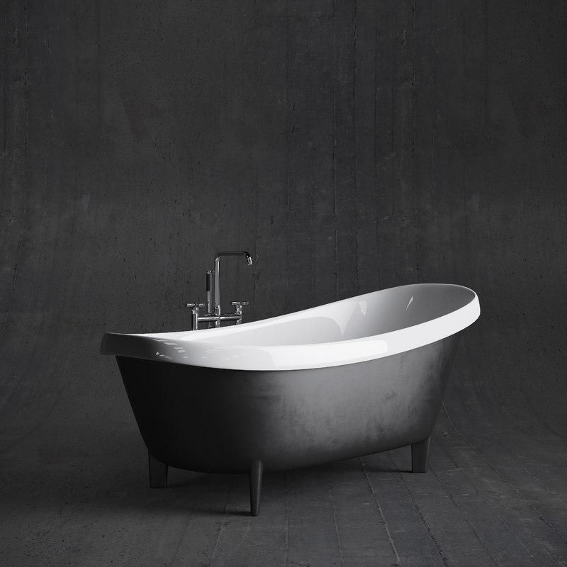 retro modern tub antonio max
