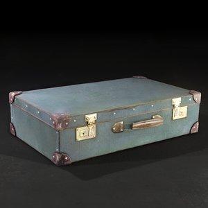 3d 3ds realistic suitcase