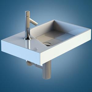 sink faucet 3d max