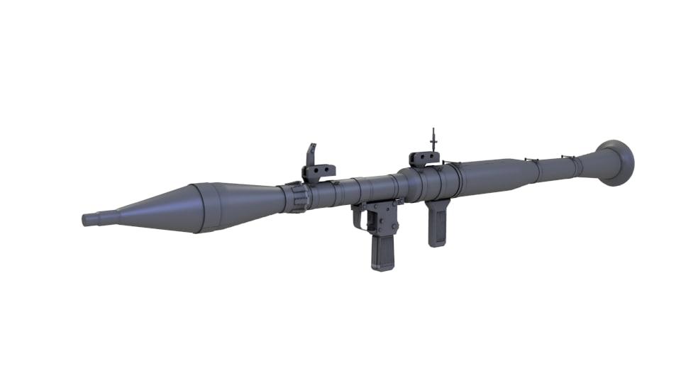rpg 3d model