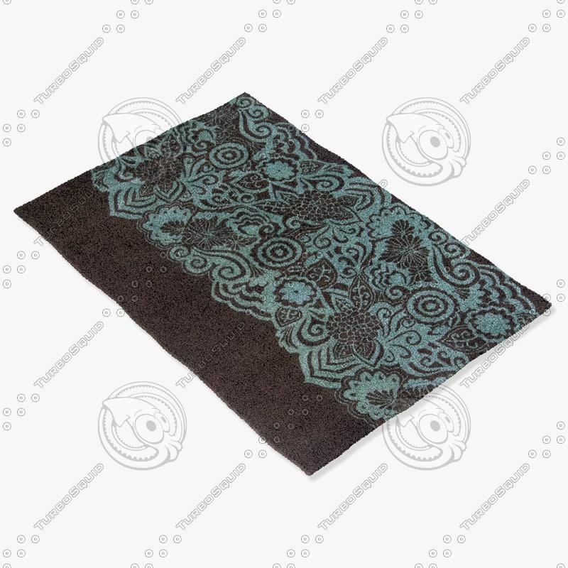 chandra rugs asc-6400 3d model