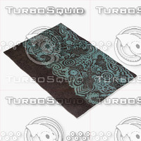 chandra rugs asc-6400 3d model