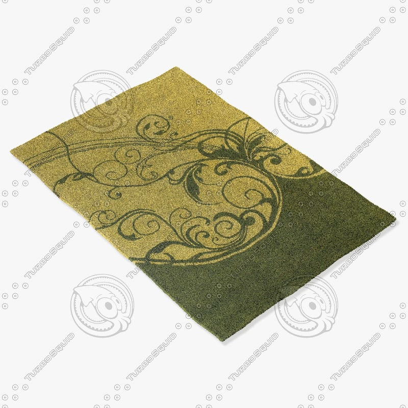 3d model chandra rugs asc-6402