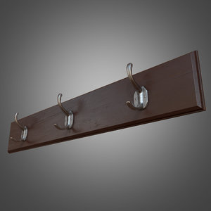 3ds max wall hanger ready