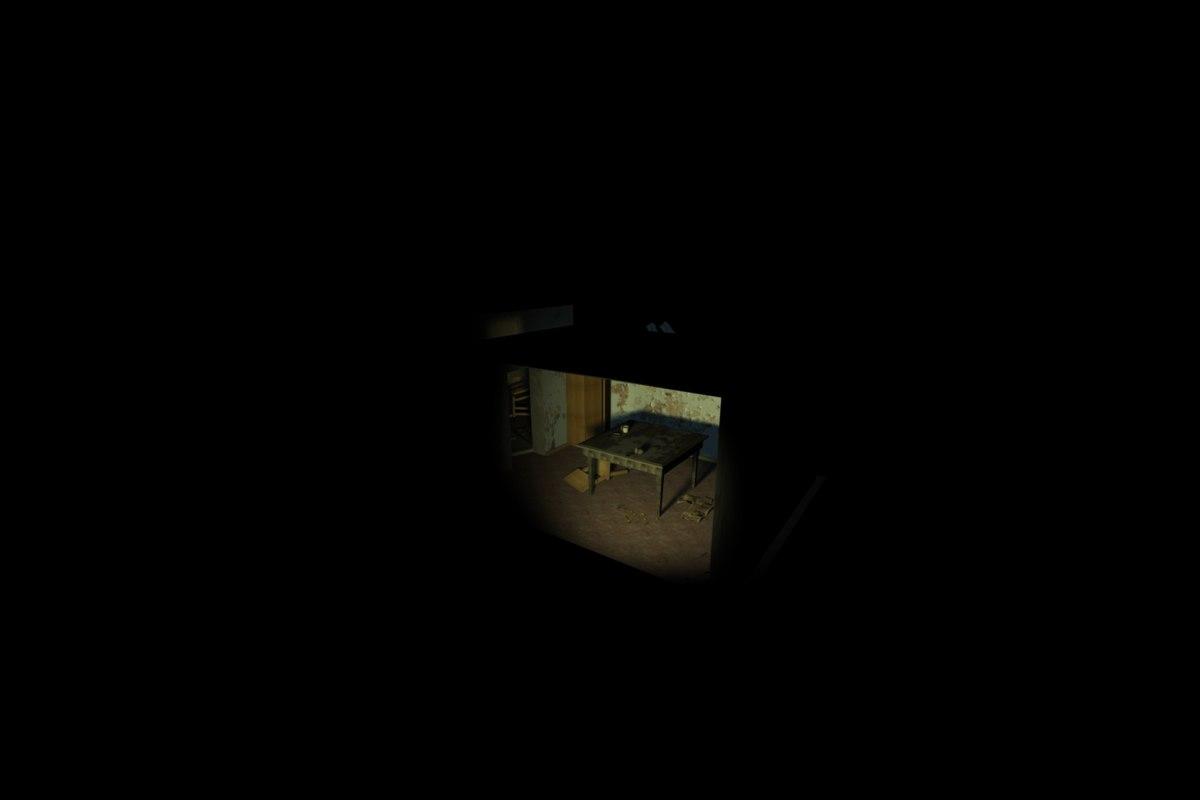 abandoned room max