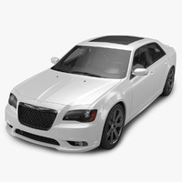 3ds max 2012 chrysler 300 srt8