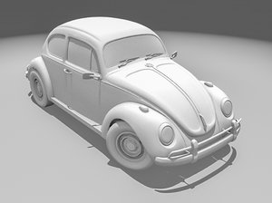 3d model beetle 1300