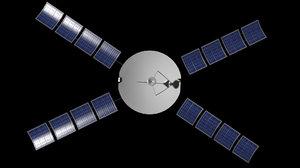 3dsmax space probe
