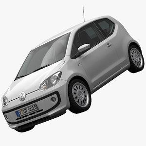 volkswagen up! 3d model