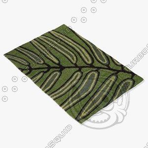 chandra rugs asc-6406 3ds