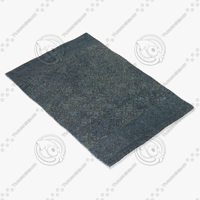 chandra rugs ber-32101 3d model