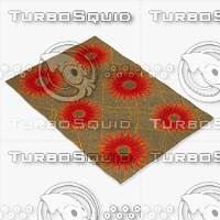 chandra rugs dai-12 3d model