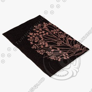 3d model chandra rugs dha-7526