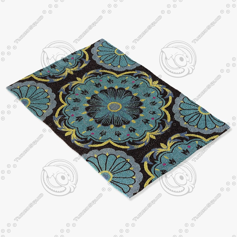 3ds max chandra rugs dha-7535