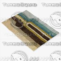 chandra rugs far-6207 3d model
