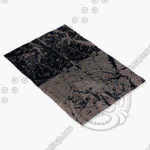 3d chandra rugs fen-6502 model