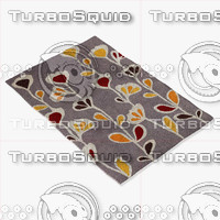 chandra rugs inh-21609 3d max