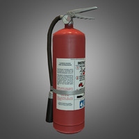 3d extinguisher ready