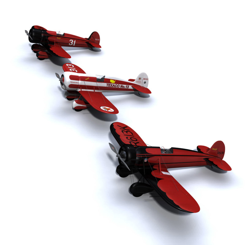 travel air mystery ship racing c4d