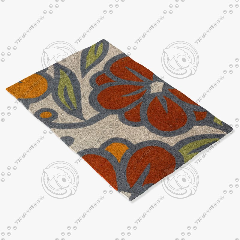 3ds max chandra rugs inh-21625