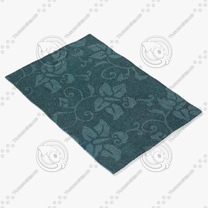chandra rugs jai-18901 3d obj
