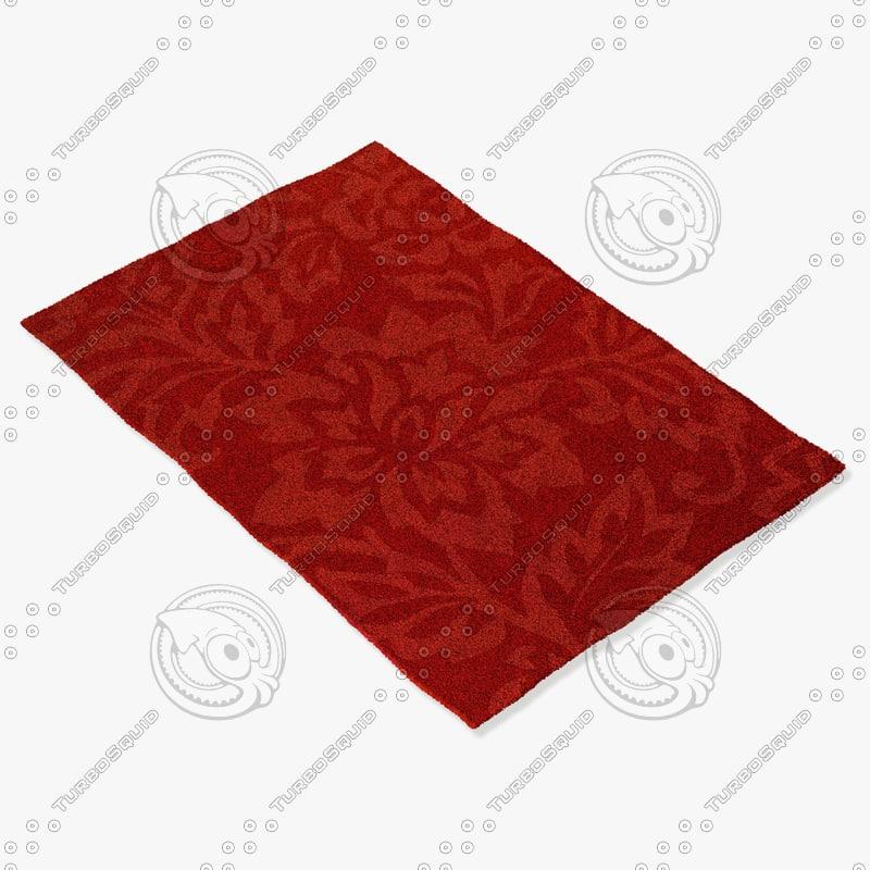 chandra rugs jai-18908 3d 3ds